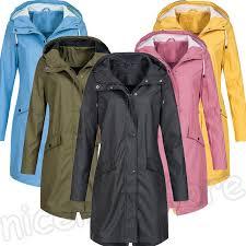 details about womens waterproof winter coat jacket parka las hooded plus size 8 20