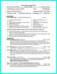 Pharmacy Technician Resume Sample (No Experience) | Creative Resume ...