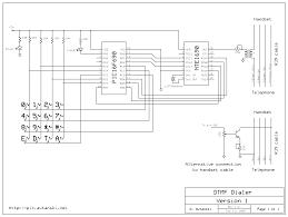 dtmf phone dialer schematics png file