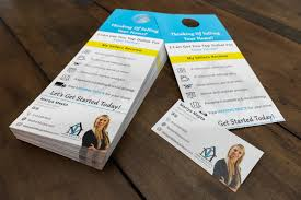 door hanger design real estate. Real Estate Agent Door Hangers Hanger Design