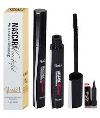 glam21 professional makeup mascara with free kajal black 10 ml glam21 professional makeup mascara with free kajal black 10 ml at best s in india