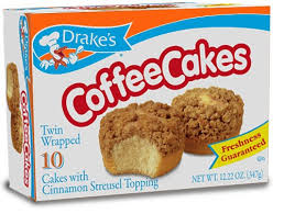 Even folks who don't generally like sweet… Drake S Coffee Cakes With Cinnamon Streusel Topping 11 5oz 8ct Brickseek