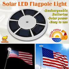 Super Bright Flagpole Light Solar Powered 26 Led Flag Pole Light Night Super Bright Powerful Flagpole Light Ebay