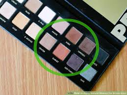 image led apply natural makeup for brown eyes step 1