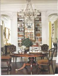 library style dining room hmm between the arches