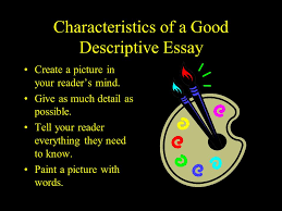 my favorite restaurant ppt video online characteristics of a good descriptive essay