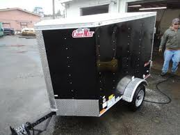 inventory olympic trailer pj and cargo mate flatbed and cargo 2018 cargo mate e series 4x6 enclosed utility trailer