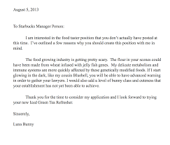 Cover Letter Starbucks - Koto.npand.co
