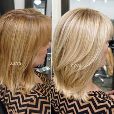 Different Color Of Blonde Warm And