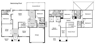 6 bed palm beach floorplan