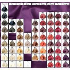 Ion Hair Color Chart Demi Best Picture Of Chart Anyimage Org