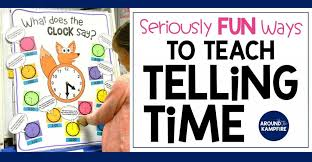 Telling Time Activities For Teaching Primary Students