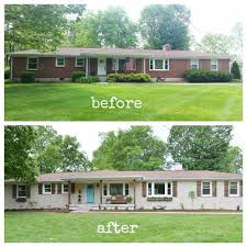 Home Exteriors Before And After Style Impressive Decorating Design