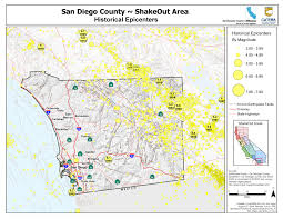 great shakeout earthquake drills  san diego county earthquake hazards