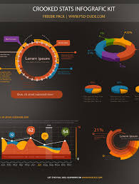 Chart Psd Free Download Stats Infographic Psd Free Download Psddude