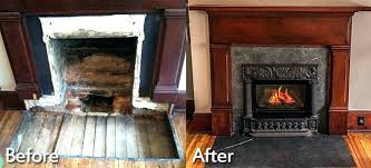 convert wood burning fireplace to gas pellet stove fireplace conversion ideas cost to convert wood burning