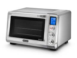 electric convection oven toaster oven by de longhi eo 241250m