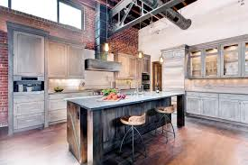Rustic Industrial Kitchen Kitchen Island Bar Stools Pictures Ideas Tips From Hgtv Hgtv