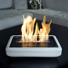 Portable Fireplace for Outdoor Activity : Small Electric Portable Fireplace  Design Maximum Heater Ability
