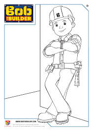 Bob The Builder Twitter Party And Colouring Page Free Printable