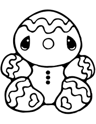 gingerbread man coloring pictures. Tiny Gingerbread Man Coloring Page Inside Pictures