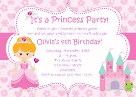 princess birthday invitation template ctsfashion com create princess birthday party invitations templates invitations