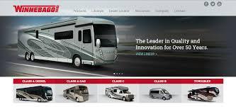 Recreation By Design Rv Dealers Winnebago Launches New Website Design Rv Trader Insider