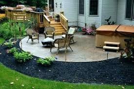 patio wooden patio designs wood patios design backyard ideas post styles