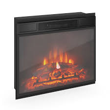 exciting electric fireplace inserts hearth dimplex in cool black fireplace for best inserted on wall