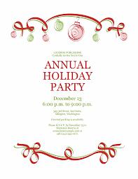 Microsoft Christmas Party Invitation Template Free Christmas Party Invitation Templates