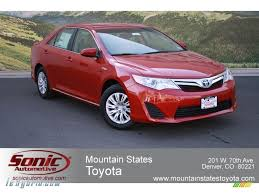 2012 Toyota Camry Hybrid LE in Barcelona Red Metallic - 029429 ...