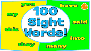 100 Sight Words Collection For Children Dolch Top 100 Words By Elf