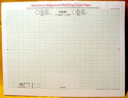 Shaft Alignment Graph Paper