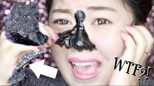 disgusting blackhead removal activated carbon mask review giveaway you