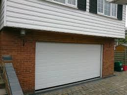 white georgian g60 insulated sectional garage door sandiway