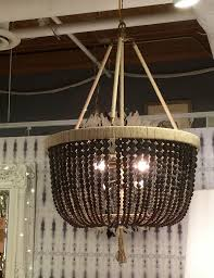 beaded chandeliers invaluable lighting lessons satori design pertaining to amazing property black beaded chandelier prepare