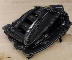 wilson 2092 lht leather glove black premium cowhide 12 deer tan lining prostaff 29 99