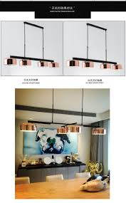 Großhandel Moderne Loft Industrie Kronleuchter Rose Gold Hängeleuchte Esszimmer Schlafzimmer Küche Retro Leuchte Pendel Led Kronleuchter Lampen