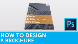 How To Design A Brochure In Adobe Photoshop Solopress Tutorial