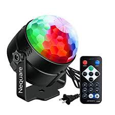 Nequare Disco Lights <b>Sound</b> Activated <b>Strobe Light</b> Disco Ball Dj ...