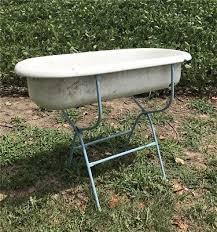 antique hungarian porcelain bath tub with stand farmhouse sink enamel baby bath
