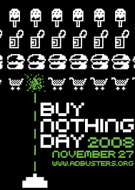 buy nothing day poster by timooo on  buy nothing day poster by timooo