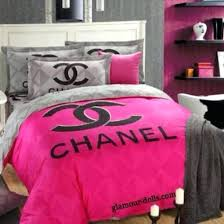 chanel bedroom set home accessory bedding bedroom inspired bag pink bed set bedding coco chanel bedroom