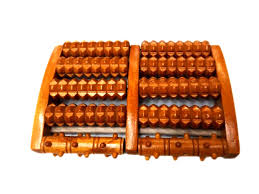 supply factory direct massage foot massage beads five rows of wooden massager