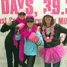 dr alisa gean walks miles raises thousands to fight breast dr alisa gean poses center alongside her sisters suzanne hyle and marsha kendall all of whom walked to celebrate their mother shirley collins