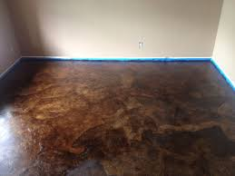 diy brown paper bag walls diy paper bag floors that look like stained concrete