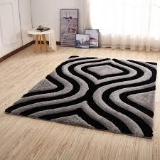 csr2152 crown gy 3d gray black area rug