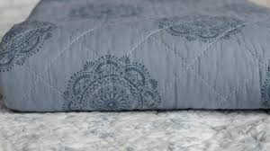 cotton quilted throws. Perfect Quilted Blue Quilted Throw To Cotton Throws E