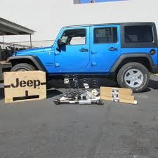 jeep wrangler 4 door 2 inch lift kit fox racing shox w o crate new