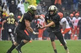 Purdue Football Quarterback Depth Chart Hammer And Rails